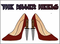 The Killer Heels team badge